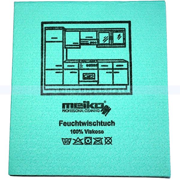 Wischtuch Meiko Feuchtwischtuch grün 35x40 cm
