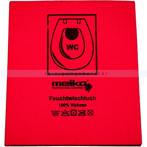 Wischtuch Meiko Feuchtwischtuch rot 35x40 cm
