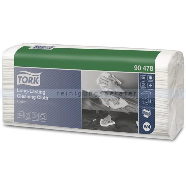 SCA Tork 90478 Wischtuch Langlebiges Reinigungstuch 90 Stück langlebiges Reinigungstuch für W4 Einzeltuchsystem