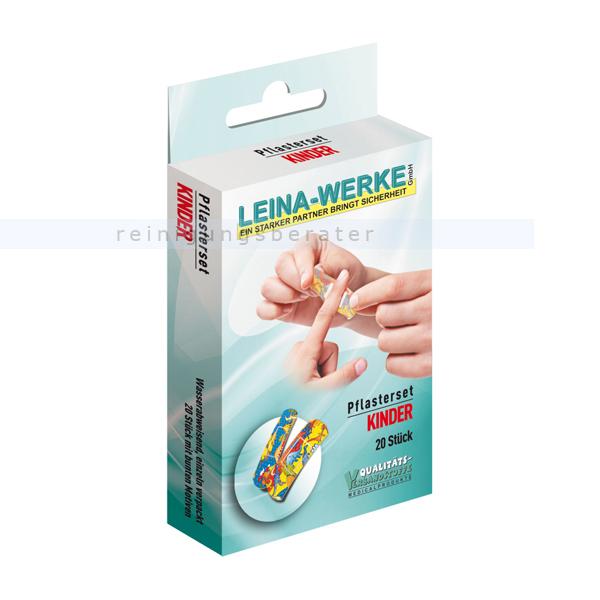 Leina Werke Wundpflaster Leina Pflasterset Kinder mit verschiedenen Arten von Pflastern 75401