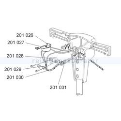 Zubehör Einscheibenmaschine Sprintus Knickschutz Gummitülle