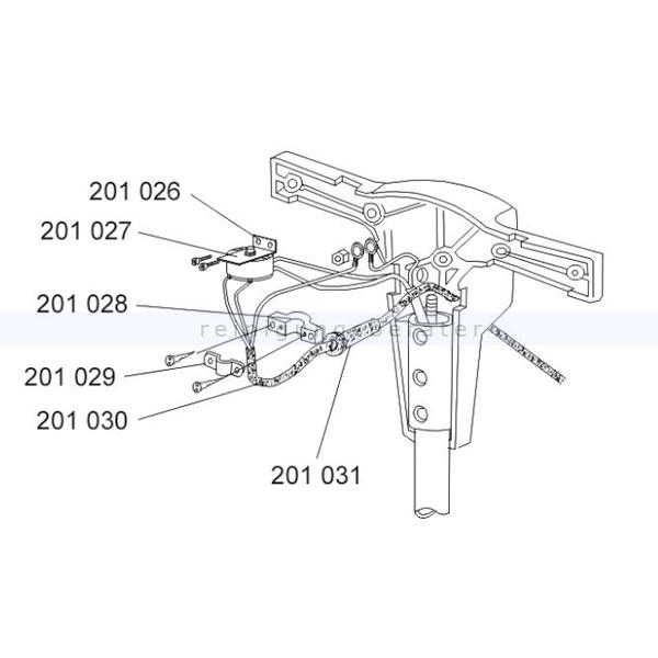 Sprintus 201031 Knickschutz Gummitülle für EM17 R & Hercules Knickschutz für EM 17 R und Hercules Einscheibenmaschine
