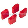 Zubehör für Leitern Hailo 4er SET Kunststoff Füße rot zu MTL
