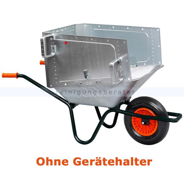 Flora Carrier Volumo Schubkarrenaufsatz Zubehör Schubkarre ohne Stielgerätehalterung 01406