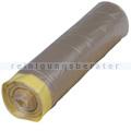 Zugband Müllsäcke transparent 100 L 55 my 10 Stück/Rolle